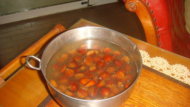 栗の甘露煮